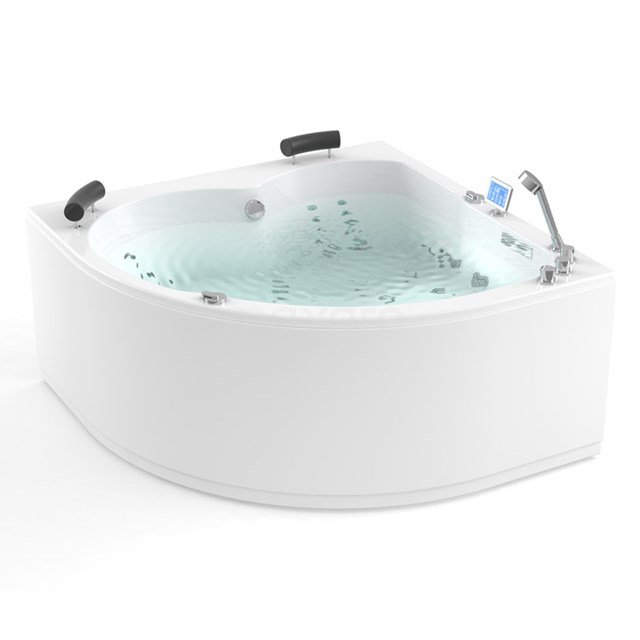 Whirlpool Bad Atlantic Gold 2 Persoons Links 150x150cm Water- en luchtmassage W06014DL