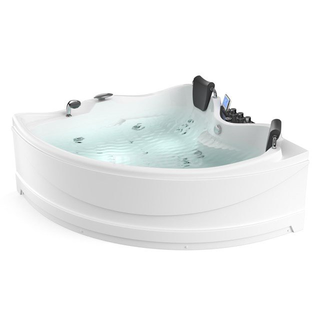 Whirlpool Bad Reef Silver 2 Persoons Rechts 165x165cm Watermassage W063-174CR