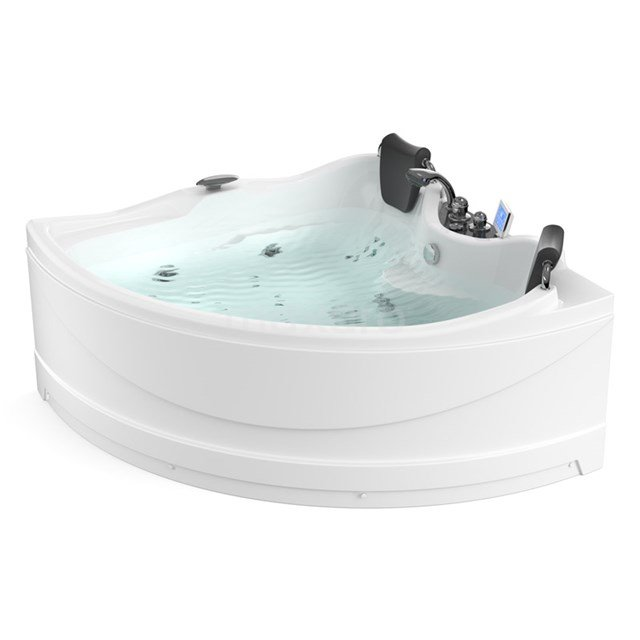 Whirlpool Bad Reef Silver 2 Persoons Rechts 150x150cm Watermassage W064-154CR