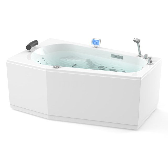 Whirlpool Bad Atlantic Gold 1 Persoons Links 170x100cm Water- en luchtmassage W07014DL
