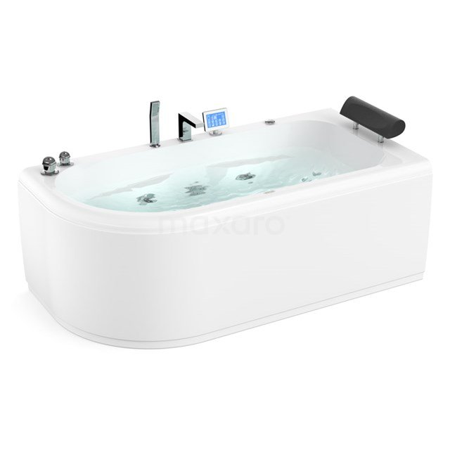 Whirlpool Bad Pacific Silver 1 Persoons Rechts 170x85cm Watermassage W073-174CR