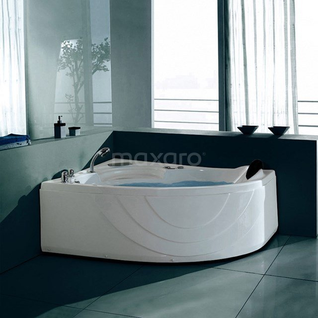 Whirlpool Bad Arctic Brass 1 Persoons Links 150x100cm Watermassage W010-151BL