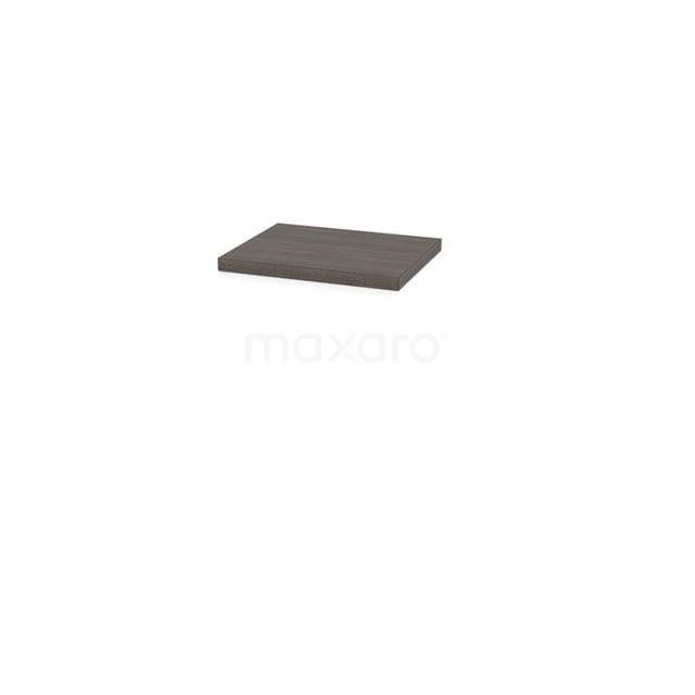 Wastafelblad Modulo Plato Slim 50cm Grijs Eiken Ondiep T09-0500-32800