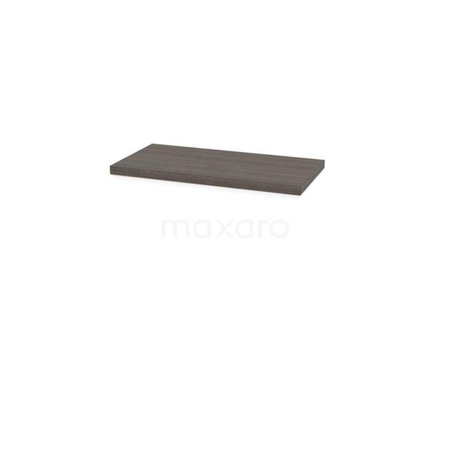Wastafelblad Modulo Plato Slim 80cm Grijs Eiken Ondiep T09-0800-32800