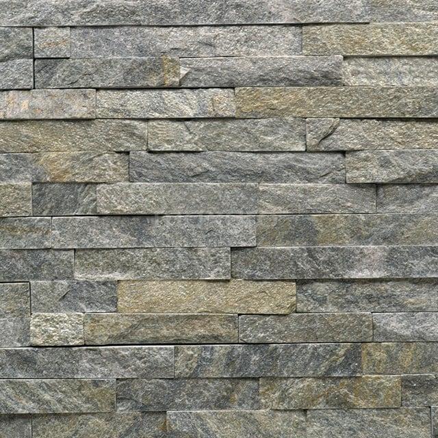 Steenstrips Brick Ceniza 15x60cm Natuursteen Multicolor  303-500204