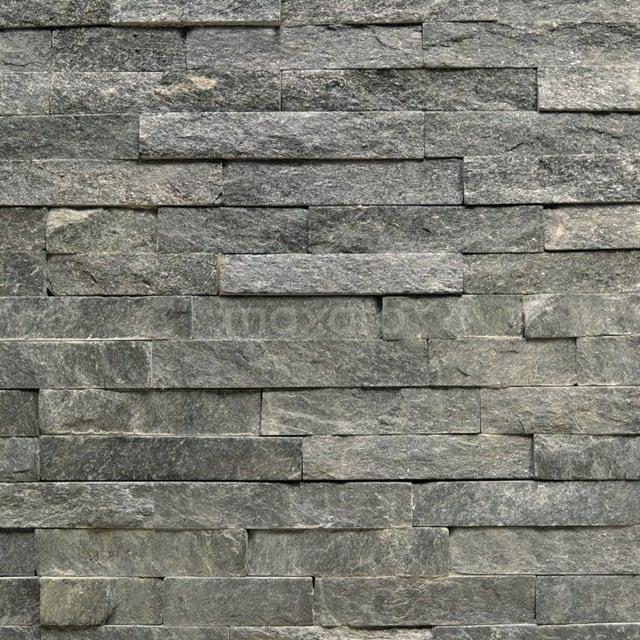 Steenstrips Brick Black Star 15x60cm Natuursteen Antraciet 303-500206