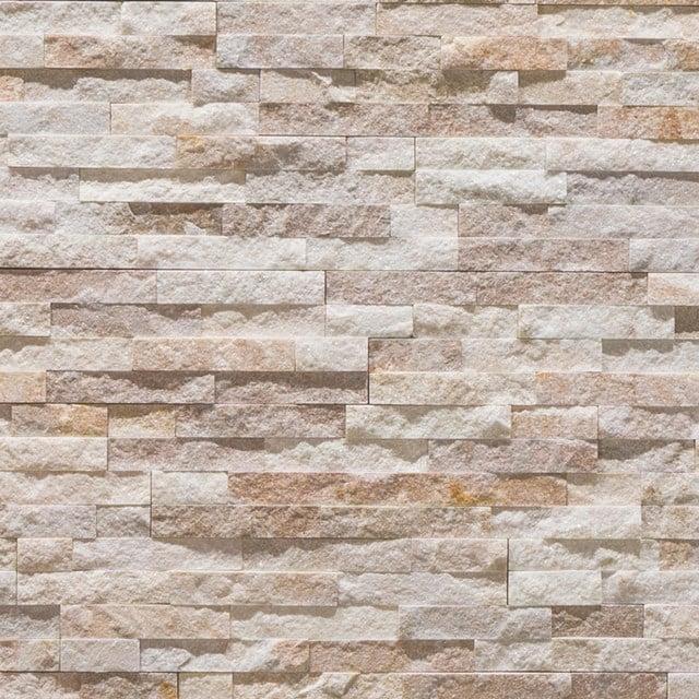 Steenstrips Brick Ivory 15x60cm Natuursteen Beige 303-500202