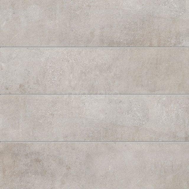Vloertegel/Wandtegel Loft Silver 30x120cm Betonlook Grijs Gerectificeerd 304-040201