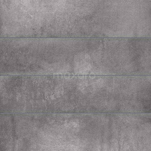 Vloertegel/Wandtegel Loft Ceniza 30x120cm Betonlook Grijs Gerectificeerd 304-040202