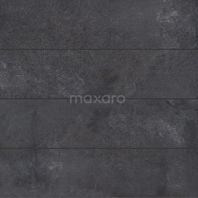 Vloertegel/Wandtegel Loft Antraciet 30x120cm Betonlook Antraciet Gerectificeerd 304-040203