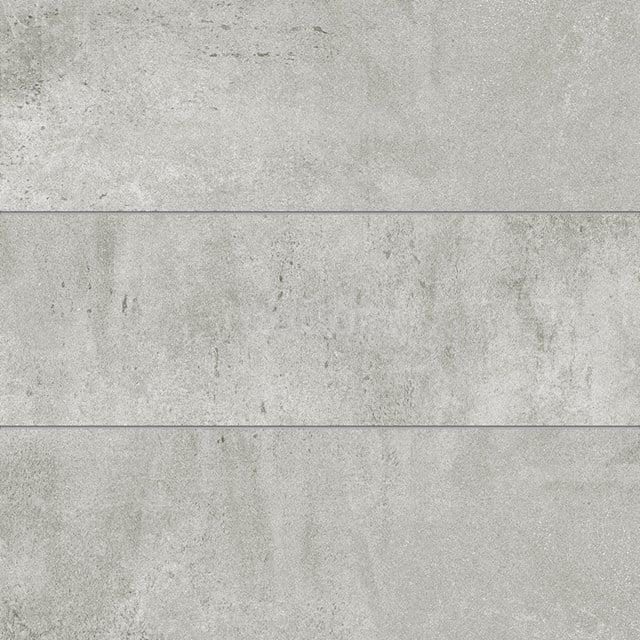 Vloertegel/Wandtegel Atelier Platinum 30x90cm Betonlook Grijs Gerectificeerd 304-070202