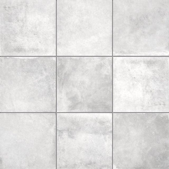 Vloertegel/Wandtegel Adagio Cement 20x20cm Uni Grijs Gerectificeerd 401-020301