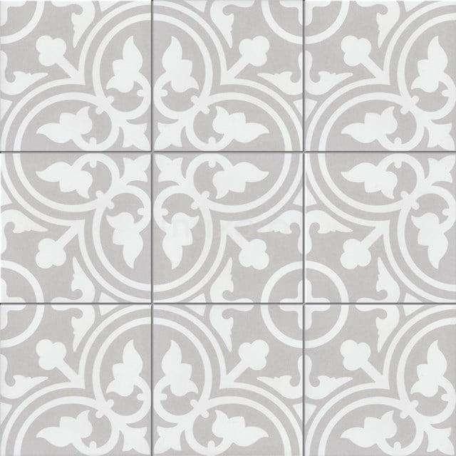 Vloertegel/Wandtegel Memory Classic Grey 20x20cm Portugees Multicolor 402-010105