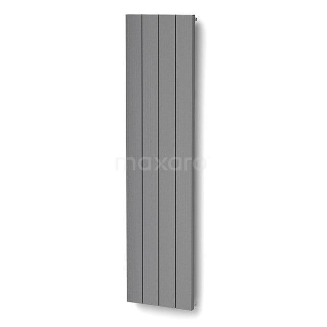 Aluminium Designradiator Saturn Lichtgrijs Metallic 1543 Watt 49,5x200cm Verticaal DR50_0420RLN