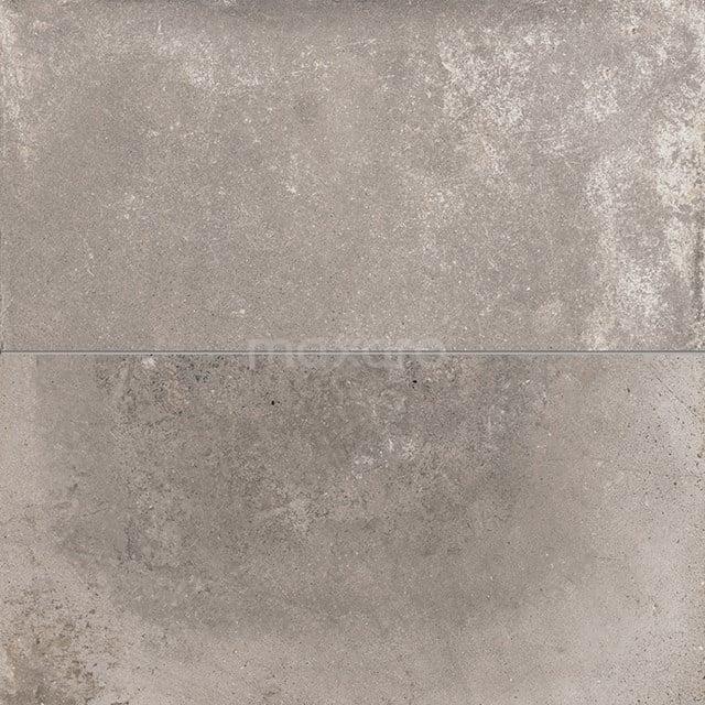 Vloertegel/Wandtegel Avenue Steel 40x80cm Betonlook Grijs Gerectificeerd 404-020202