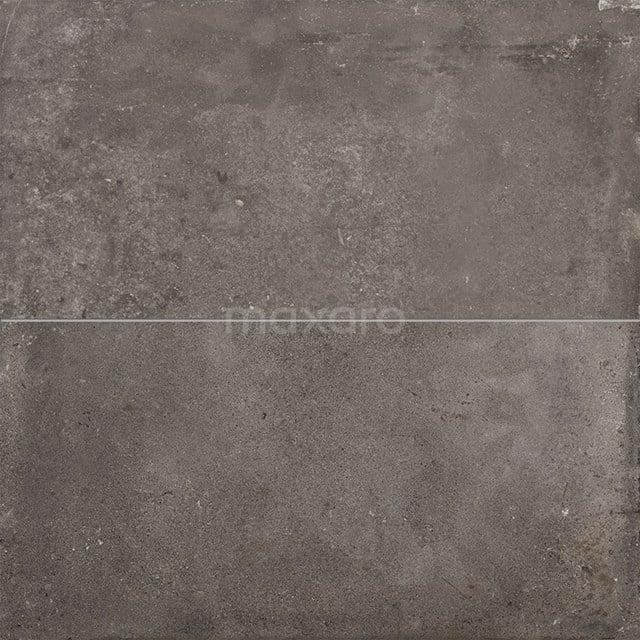 Vloertegel/Wandtegel Avenue Graphite 40x80cm Betonlook Grijs Gerectificeerd 404-020203