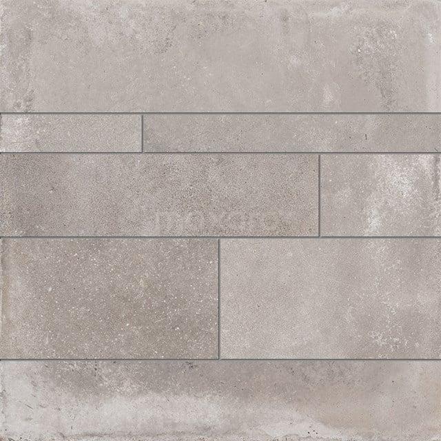 Strokenmix Avenue Steel Betonlook Grijs Gerectificeerd 404-020302