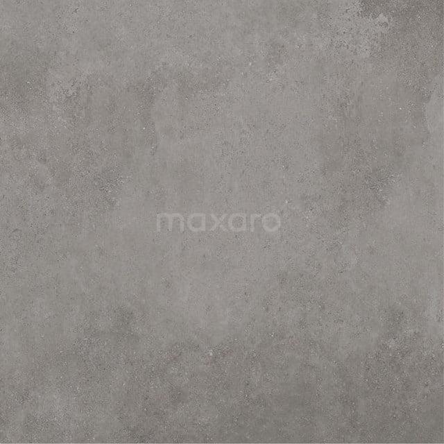 Vloertegel/Wandtegel Tura Dark Grey 60x60cm Uni Grijs Gerectificeerd 501-060103