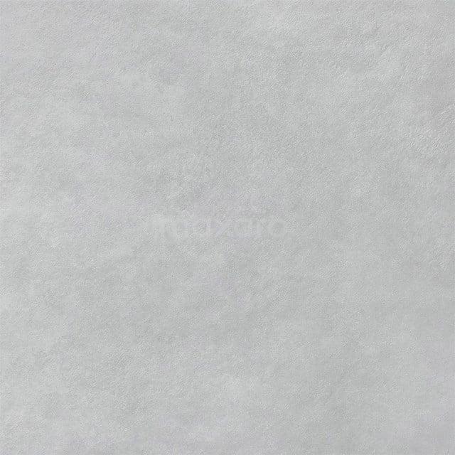 Vloertegel/Wandtegel Verso Light Grey 80x80cm Uni Grijs Gerectificeerd 501-070403