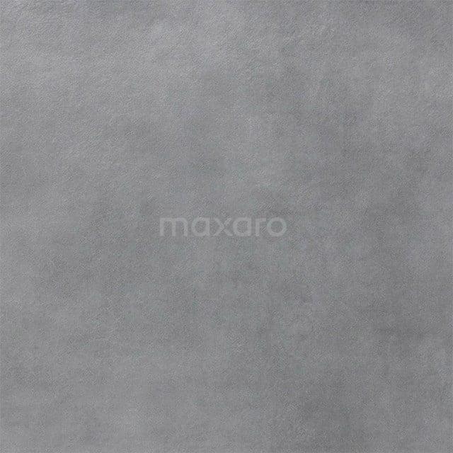 Vloertegel/Wandtegel Verso Dark Grey 60x60cm Uni Grijs Gerectificeerd 501-070105