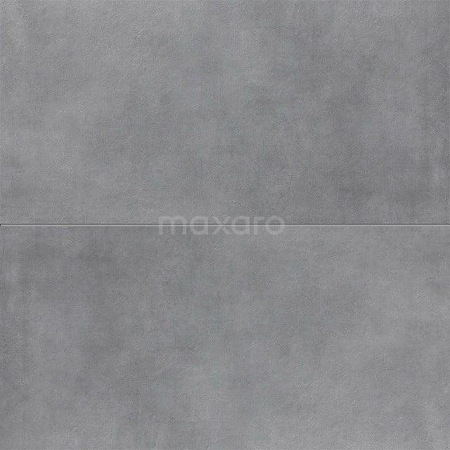 Vloertegel/Wandtegel Verso Dark Grey 40x80cm Uni Grijs Gerectificeerd 501-070305