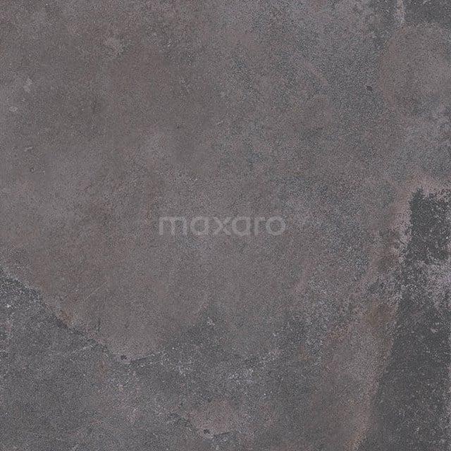 Vloertegel/Wandtegel Opus Dark Grey 75x75cm Natuursteenlook Antraciet Gerectificeerd 503-020303