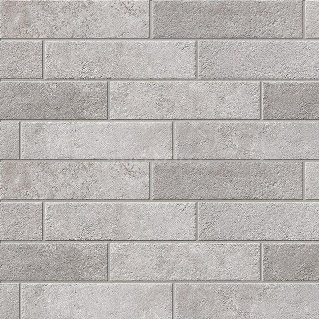 Vloertegel/Wandtegel Opus Grey 7,5x30cm Grijs Natuursteenlook 503-020402