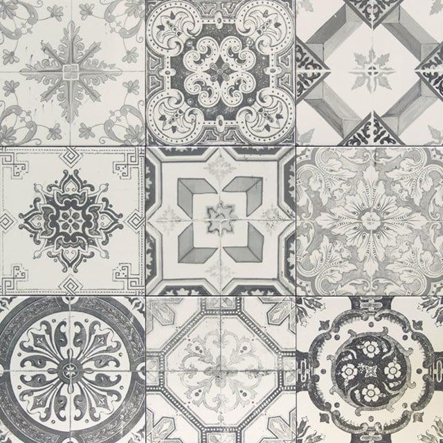 Tegelsample, Vloertegel/Wandtegel, Deco Grey 506-0101TS