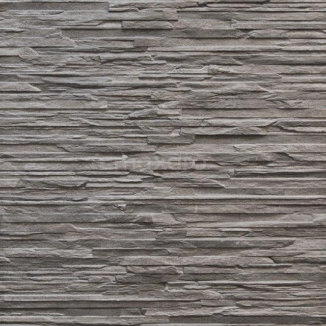 Wanddecor Cliff Graphite 16,5x41cm Natuursteenlook Grijs 403-050103