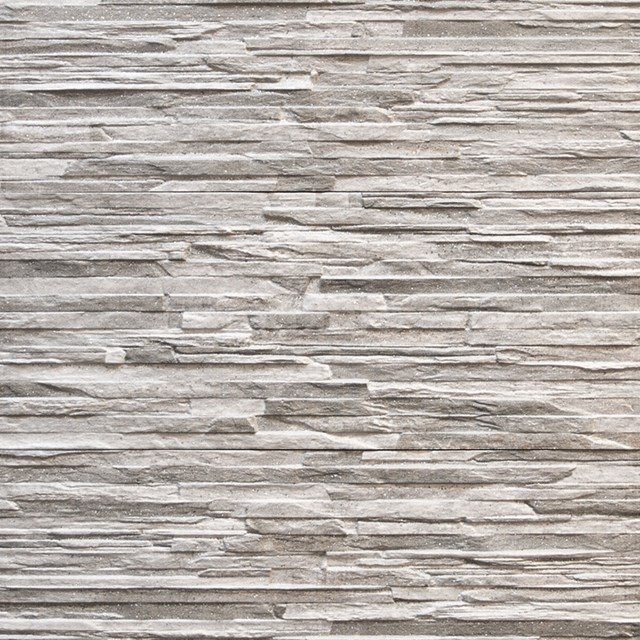 Wanddecor Cliff Grey 16,5x41cm Natuursteenlook Grijs 403-050102