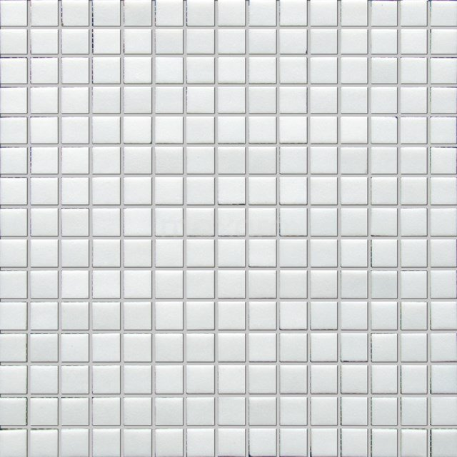 Glasmozaïek Wave White Star 32,7x32,7cm Wit Glanzend 306-020104
