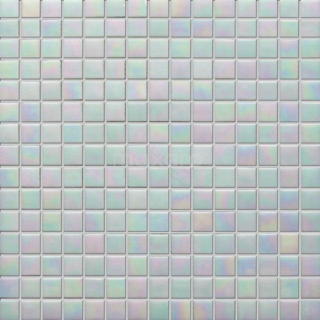 Glasmozaïek Wave Pearl 32,7x32,7cm Multicolor Glanzend 306-020106