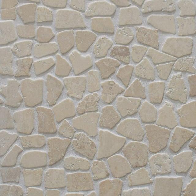 Mozaïek Pedra Cream 30x30cm Natuursteen Beige Mat 306-060101