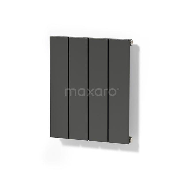 Aluminium Designradiator Jupiter Donkergrijs Metallic 292 Watt 37,5x50cm Verticaal DR52_0405RDN