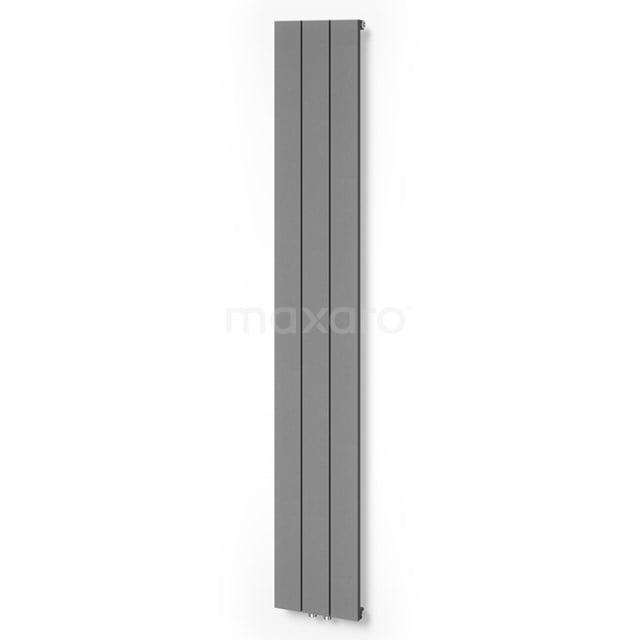 Aluminium Designradiator Jupiter Lichtgrijs Metallic 789 Watt 28x180cm Verticaal DR52_0318RLN