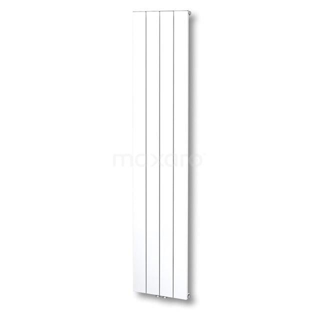 Aluminium Designradiator Jupiter Glanzend Wit 1052 Watt 37,5x180cm Verticaal DR52_0418GWN