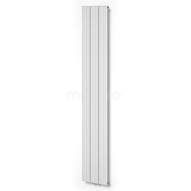 Aluminium Designradiator Uranus Glanzend Wit 899 Watt 28x180cm Verticaal DR53_0318GWN