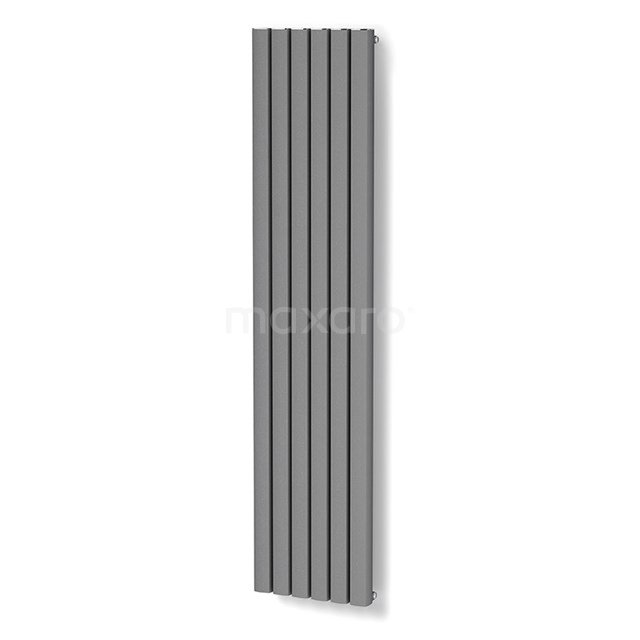 Aluminium Designradiator Neptune Lichtgrijs Metallic 2940 Watt 44,5x200cm Verticaal DR54_0620RLN